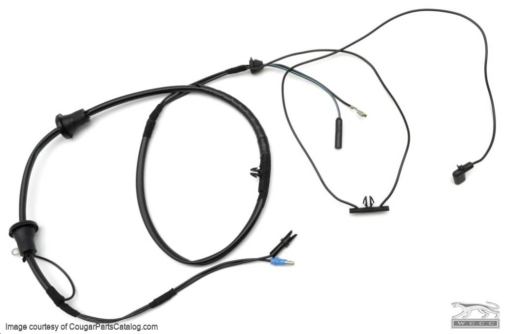 1968 cougar wiring harness