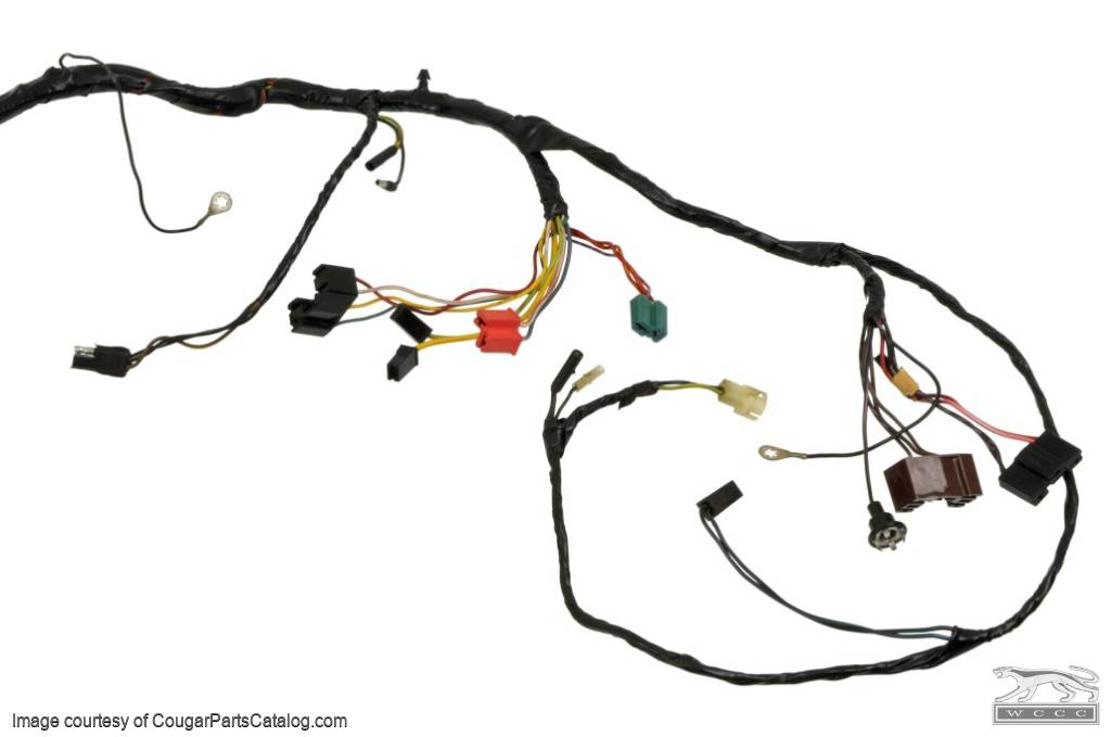 1967 cougar wiring harness