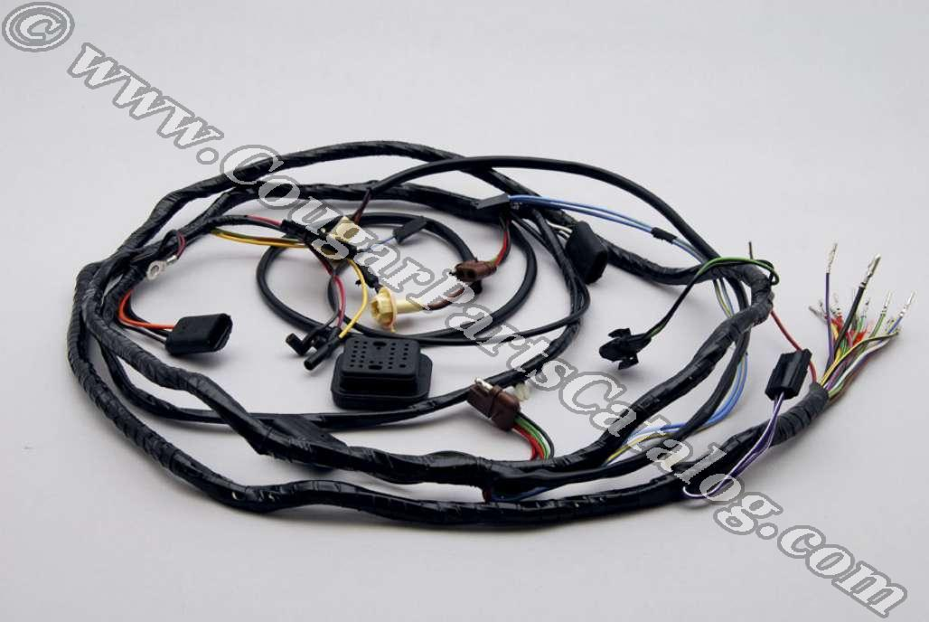 Headlight Wiring Harness For All 1967 Mustangs - 1220