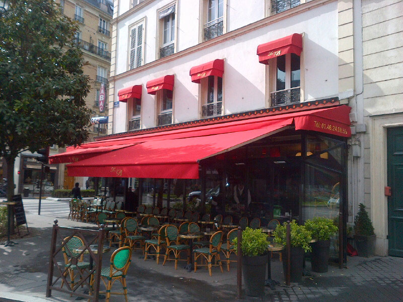Auvent Terrasse Toile Store Banne - Dupont Kine