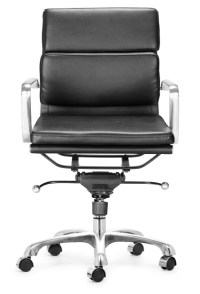 Executive Soft Pad Office Chair - Grey