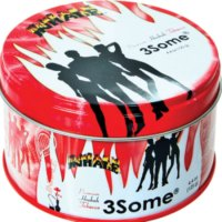 INHALE HOOKAH TOBACCO 3SOME FLAVOR 125GRAM TIN