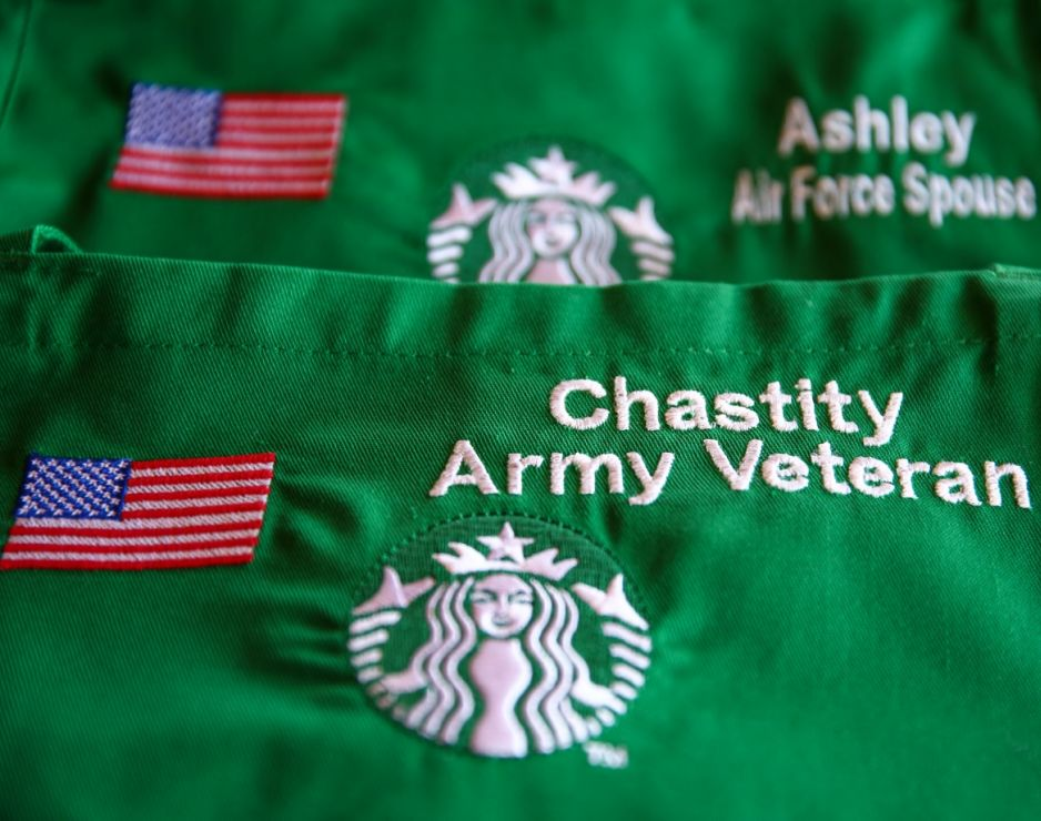 Starbucks Hiring Efforts for Military, Youth and Refugees