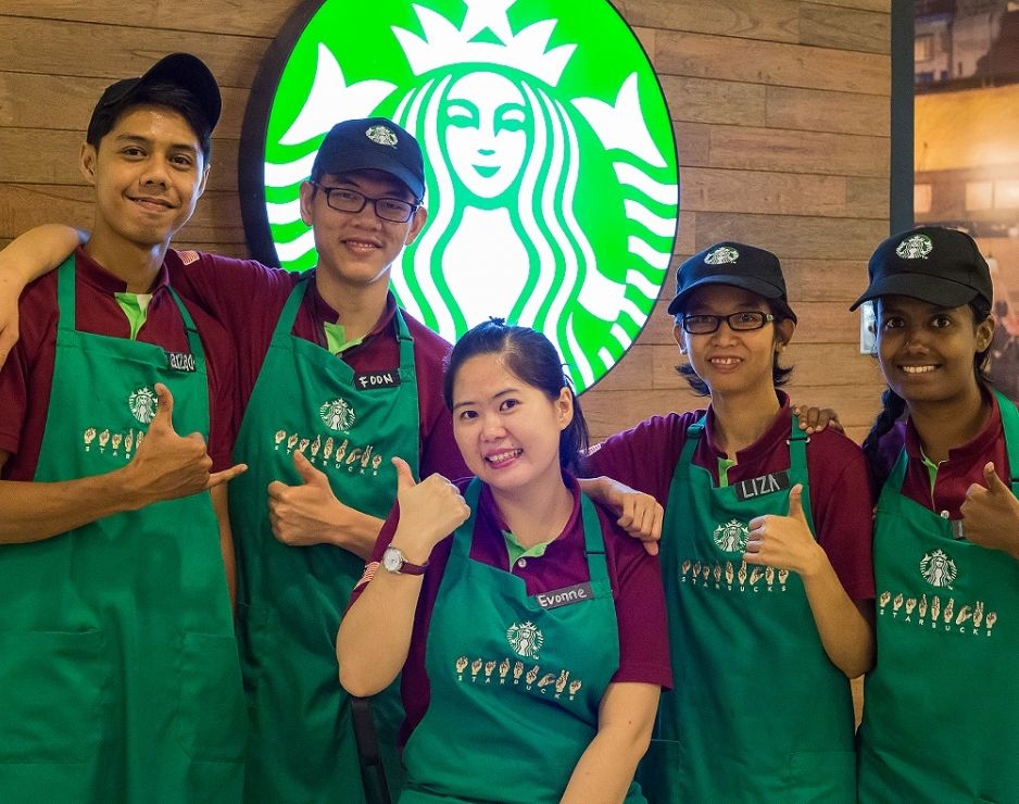 Deaf Partners Build Careers at Starbucks Store in Malaysia