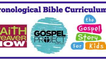 chronological 3 year bible curriculums for childrens ministry