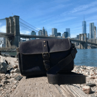 The ONA Bowery: A Stylish Camera Bag for Travellers