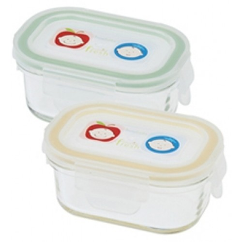 Keepin Fresh Glass Baby Food Storage Containers By Innobaby