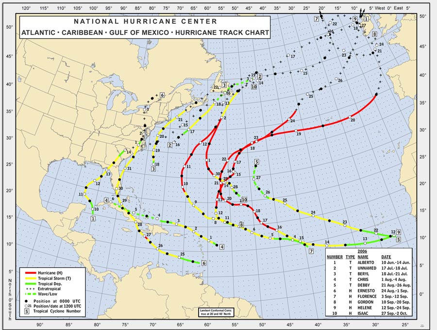 Recap of the 2006 Season - Caribbean Hurricane Network