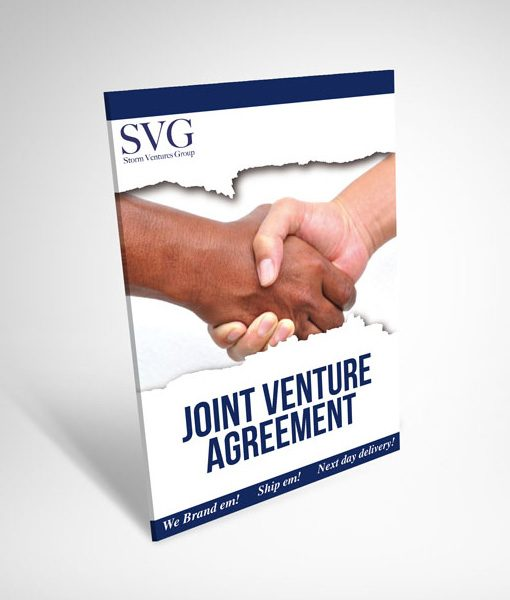 Joint Venture Agreement - Storm Ventures Group - joint venture agreement