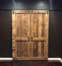 Double Sliding Barn Door - Story Barns