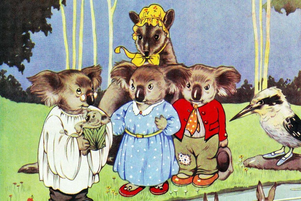 Baby Dolls Eating Food The Adventures Of Blinky Bill Free Books Bedtime Stories