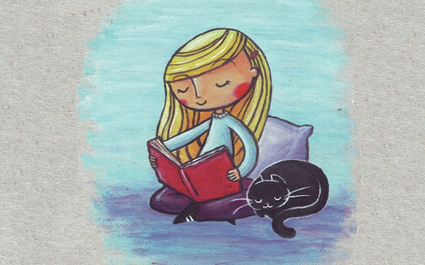 Pretty Anime Girl Wallpaper Peaceful Reading By Ine Spee On Storybird