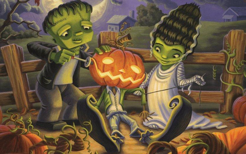 Cute Pumpkin Wallpaper Halloween By Lauren Gallegos Art On Storybird