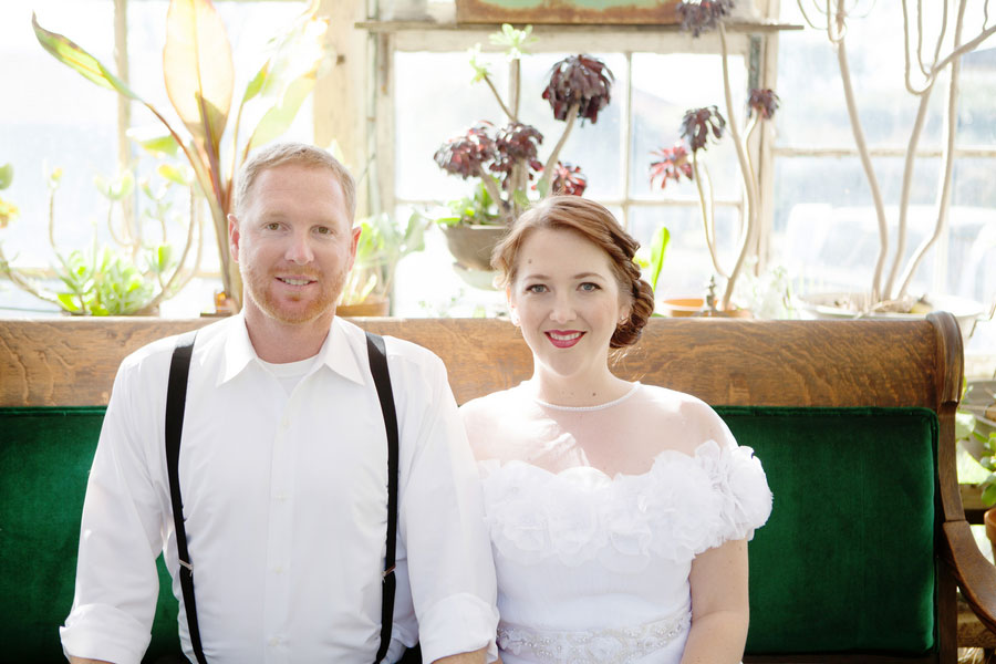 Organic Botanical Greenhouse Garden Wedding At The Condor