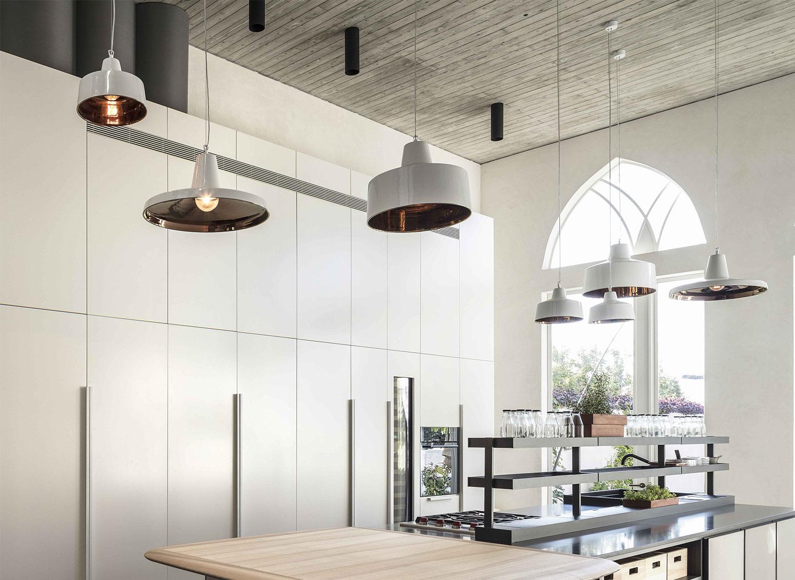 Illuminazione tavolo cucina 100 idee cucine con isola soluzioni