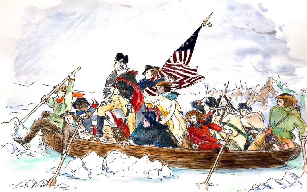 Washington Crossing the Delaware - Storytime Illustrating
