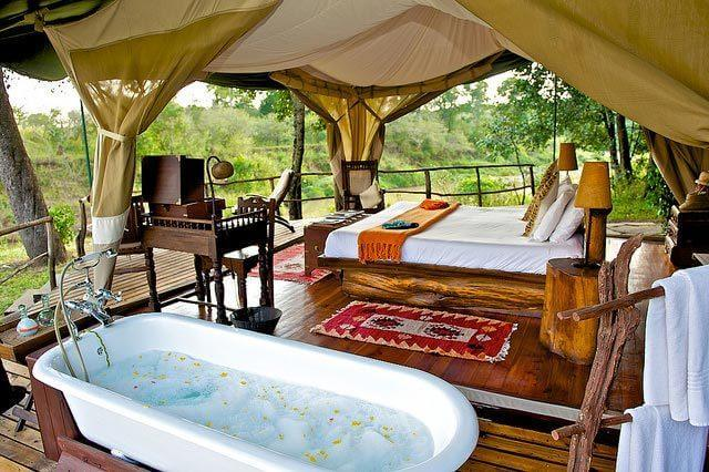 Fall Woods Wallpaper Glamping In Africa 10 Luxury Tents You Won T Want To Leave