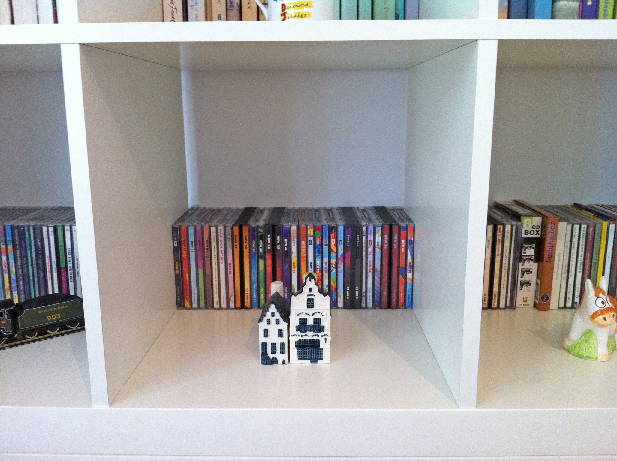 Ikea Kallax Cd Storage Kallax Stowed
