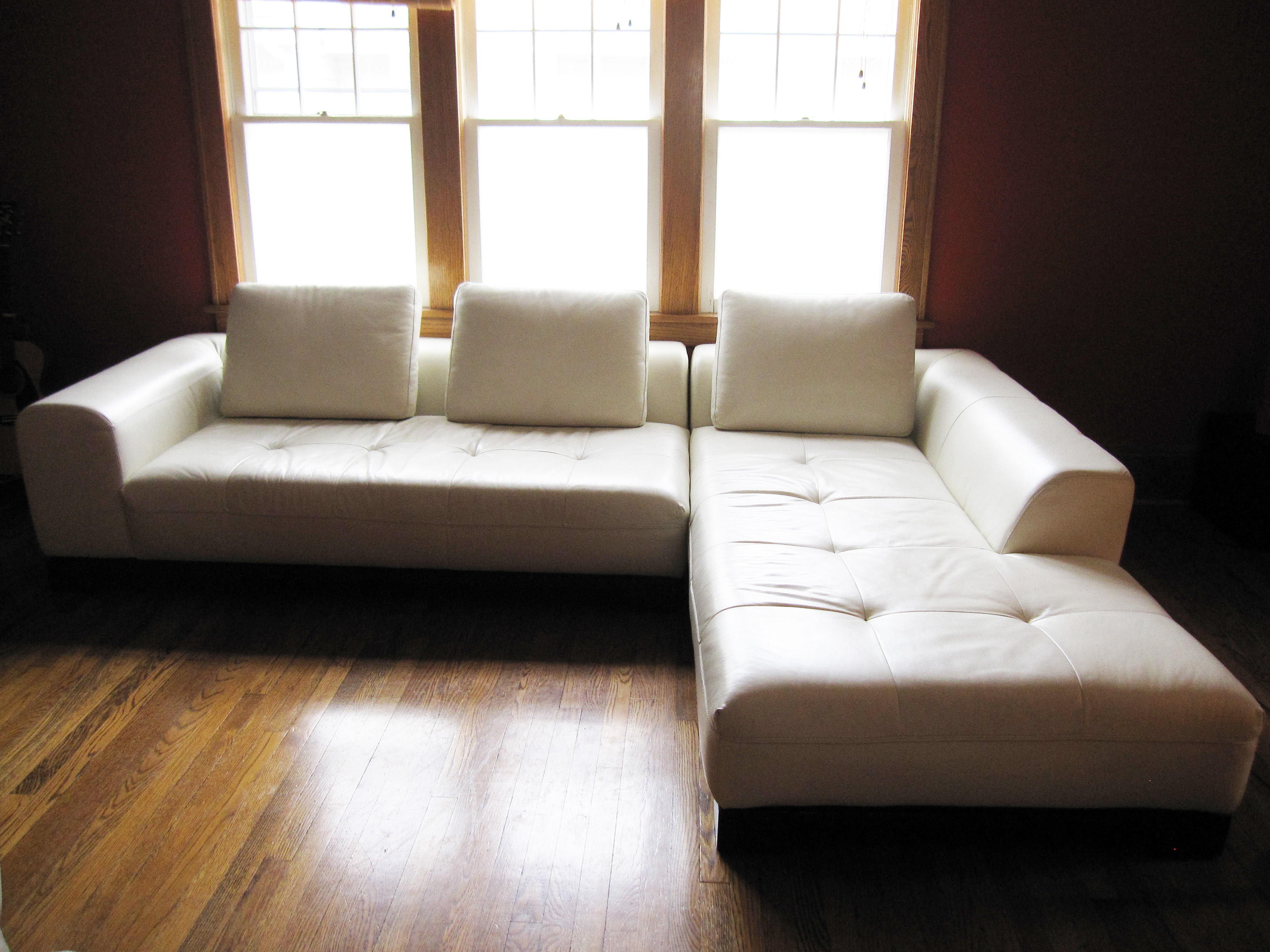 Design A Couch Z Gallerie White Leather Sectional Sofa Stowhomeforrent