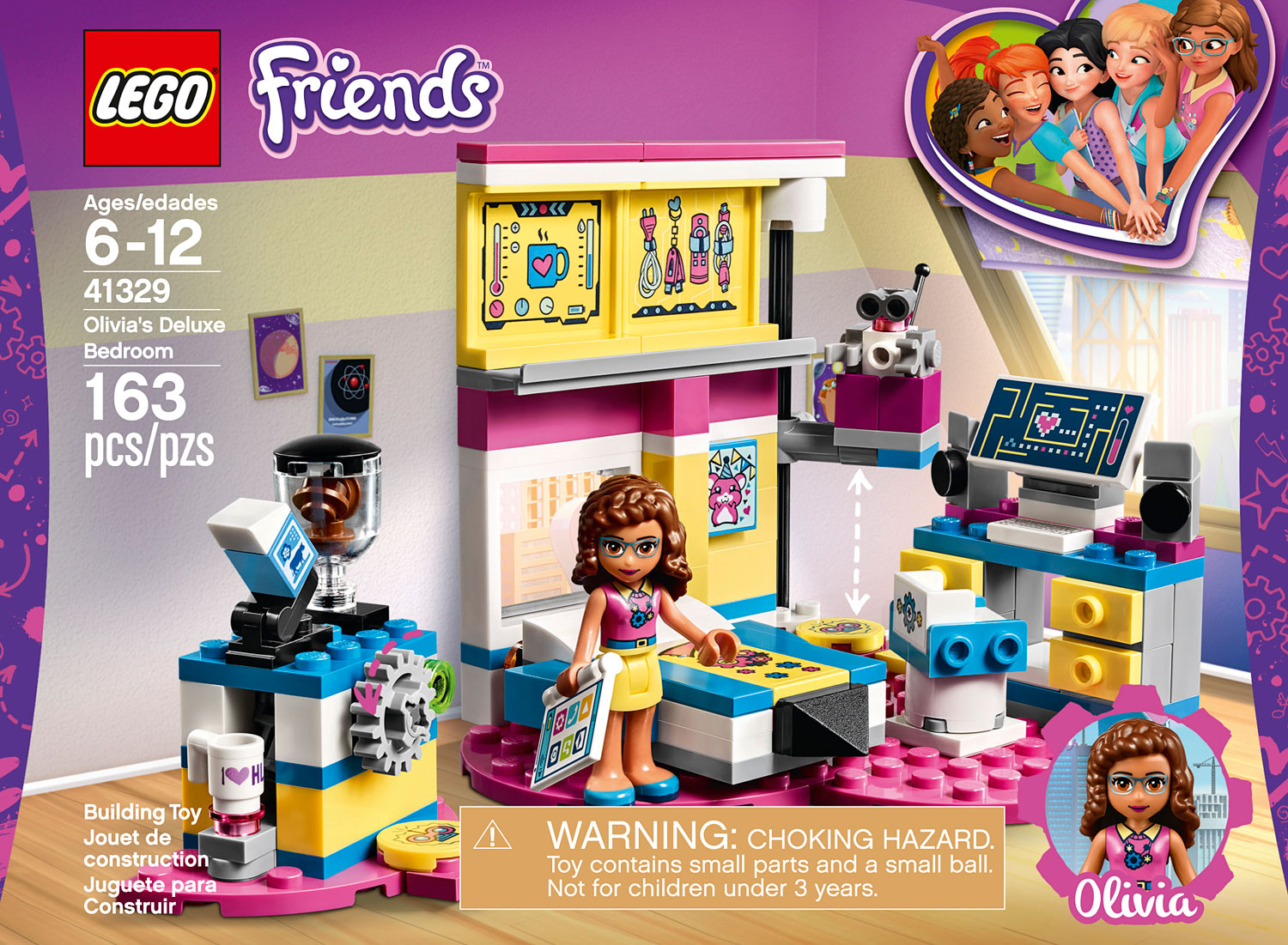 Lego Friends Olivia's Zwembad 41090 41329 Lego Friends Olivia 39s Deluxe Bedroom Lego