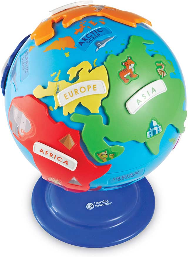 Learning Resources Puzzle Globe 14 Pieces EBay3d man and puzzle