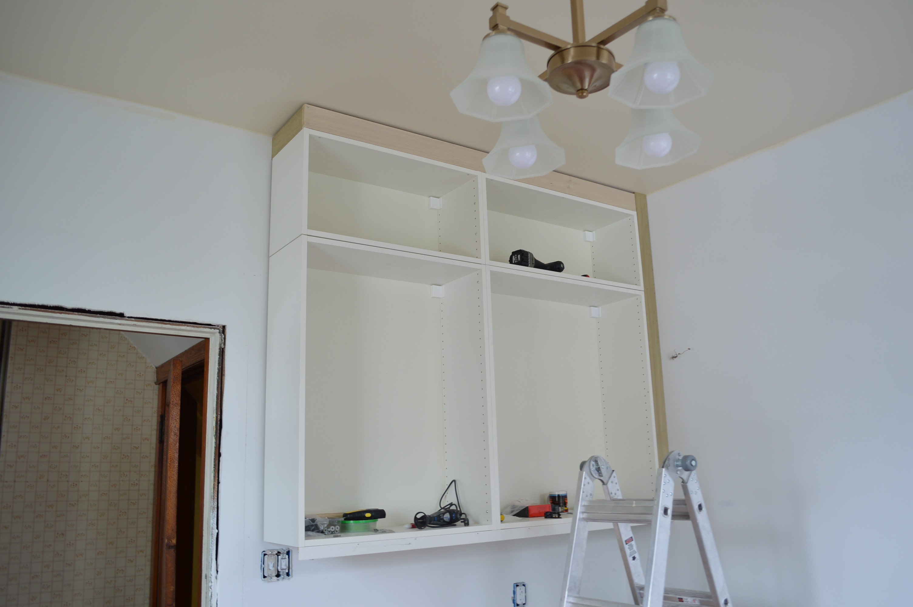 Ikea Kitchen Cabinets To Ceiling How To Scribe Ikea Cabinets St Paul Haus