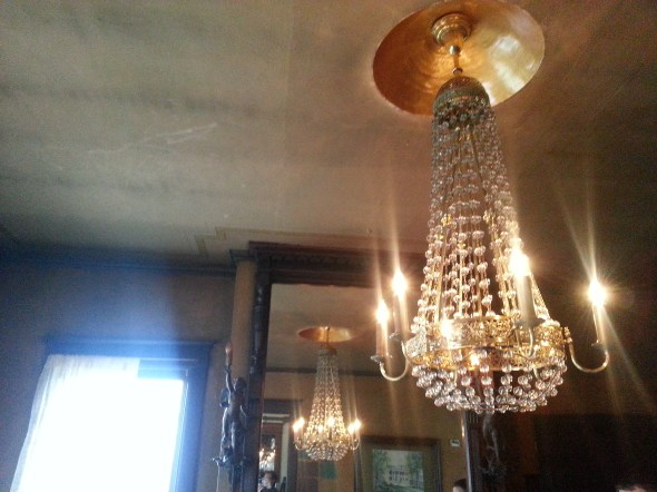 crystal light fixture