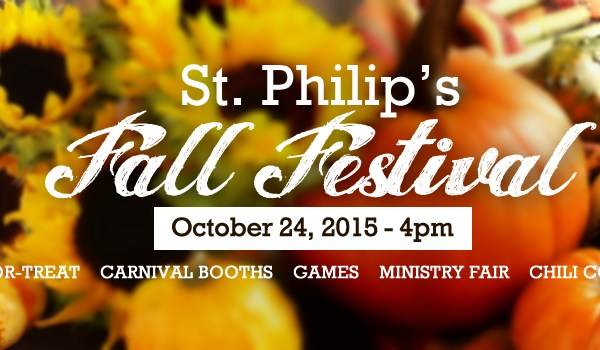 SS ST PHILIPS EPISCOPAL CHURCH FALL FESTIVAL OCTOBER 25 2015