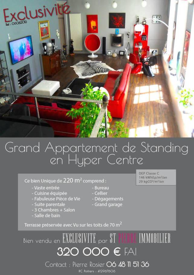 vente grand appartement de standing en hyper centre de niort st pierre immobilier