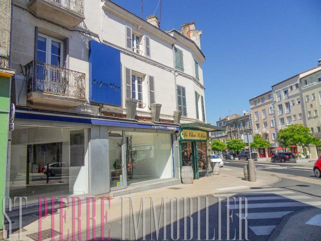 vente immeuble local commercial place du roulage niort