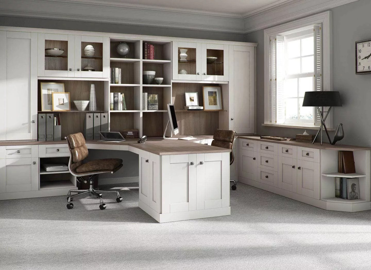 Classic Home Offices Classic Home Office Fitted Furniture From Strachan