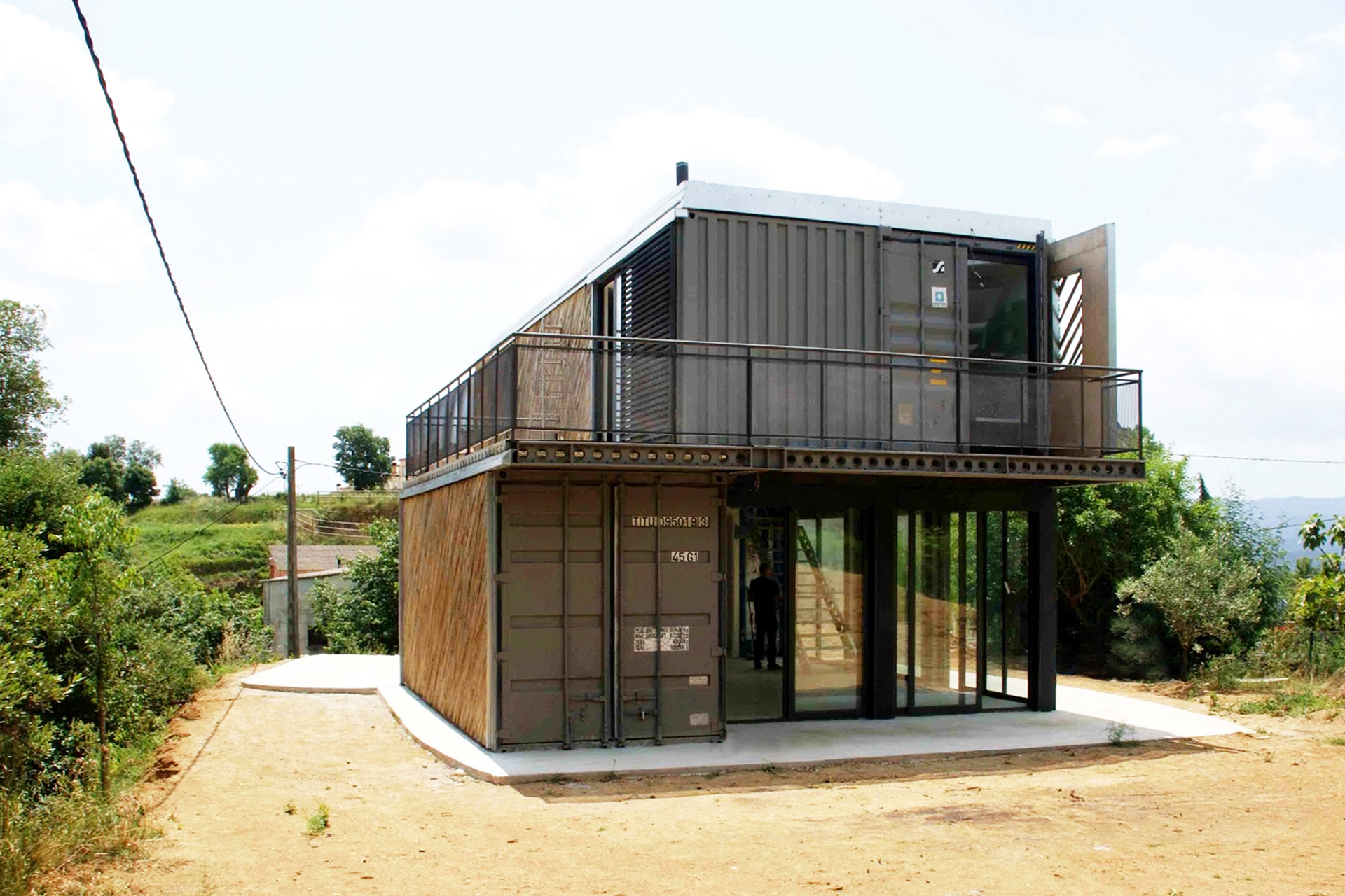 Container House Container House | Straddle3