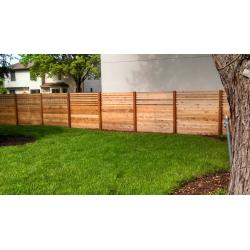 Salient You Dream It We Will Build It Straight Line Fence Build Backyard Fence Dog Build A Backyard Fence Custom Cedar Wood Privacy Fence outdoor Build Backyard Fence