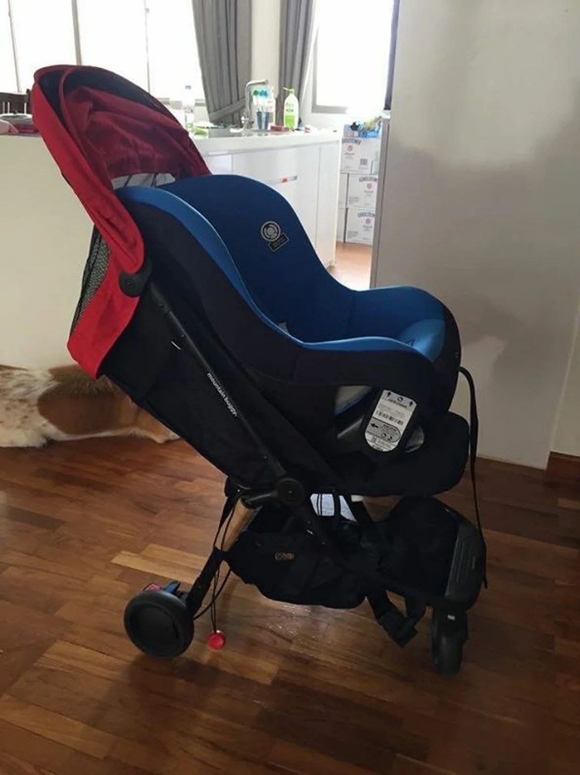 Newborn In Pram Seat Families Who Take Taxis Turn To Portable Car Seats