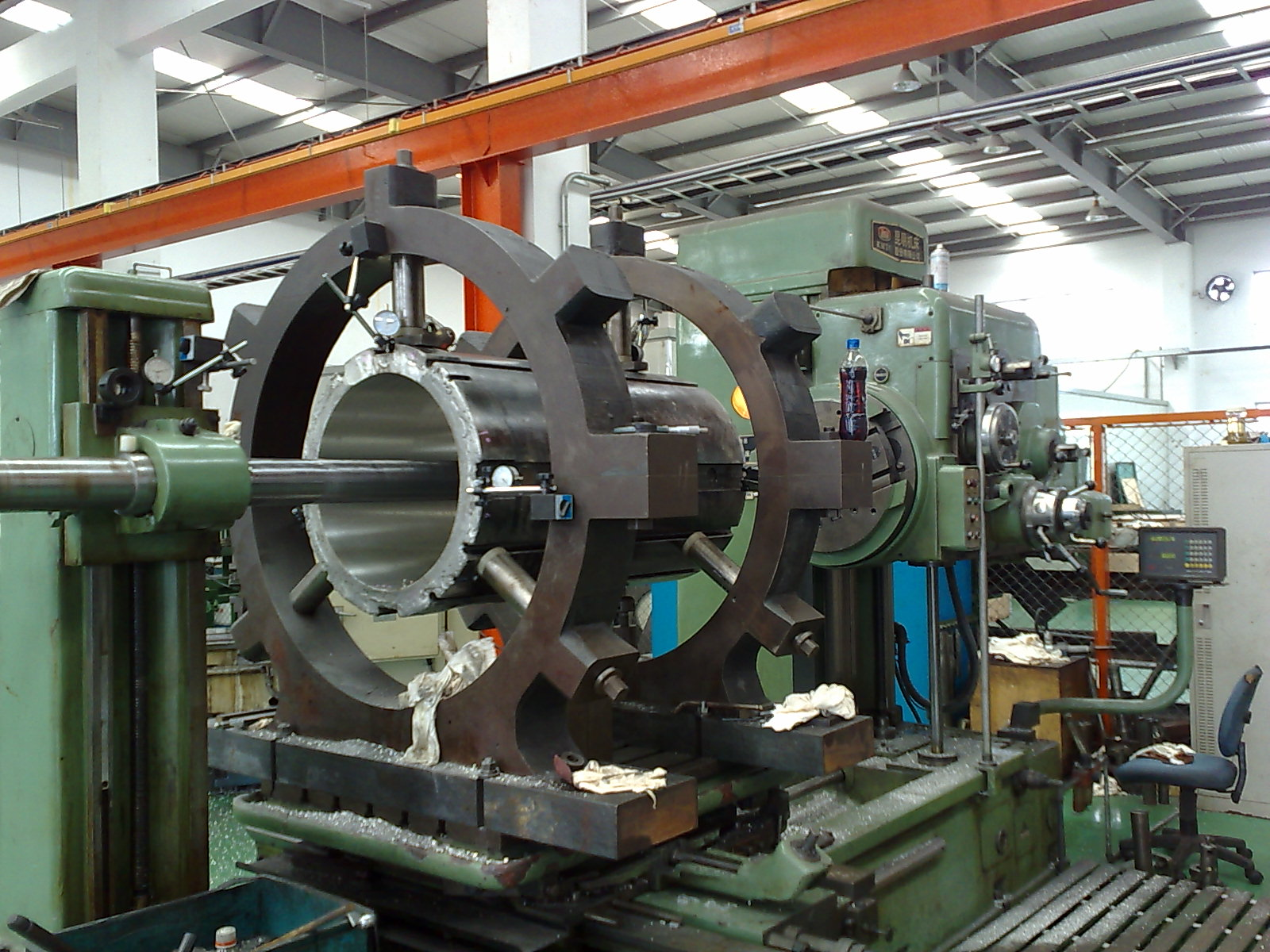 Bearing Machine Remetalling Of Stern Tube Bearings Stranded On The Largest Island