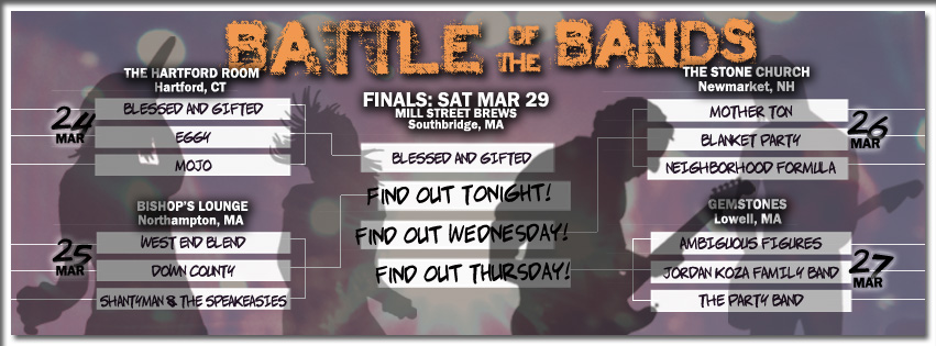 StrangeCreek Campout Battle of the Bands Final bracket