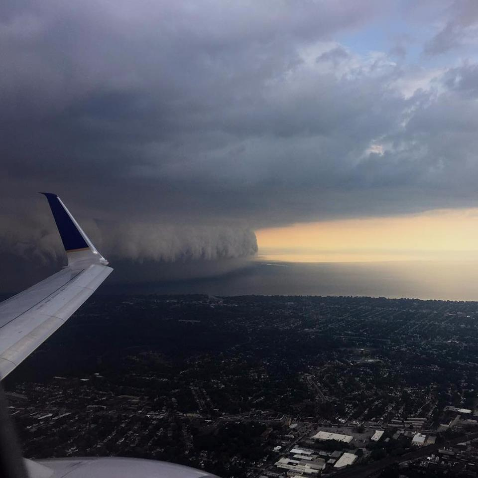 3d Crazy Wallpaper Epic Shelf Cloud Engulfs Cleveland Ohio In Pictures And