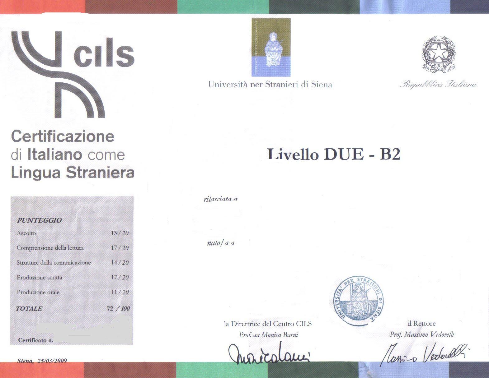 Best Esame Lingua Italiana Per Carta Di Soggiorno Photos - House ...