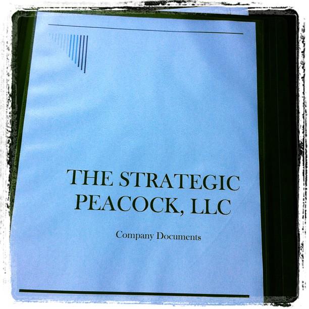 strategic peacock