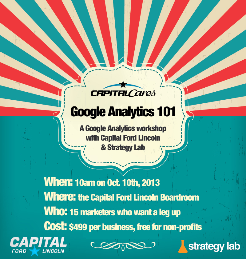 Google Analytics 101 A Capital Ford  Strategy Lab Production