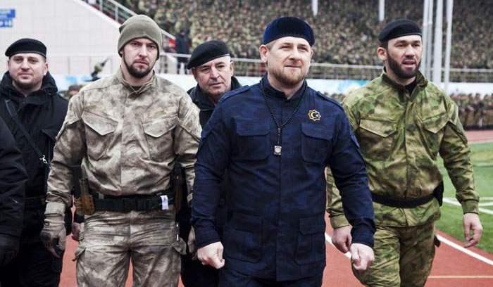 «The New Times» Kadırovun 30 minlik gizli ordusundan yazdı - FOTOLAR