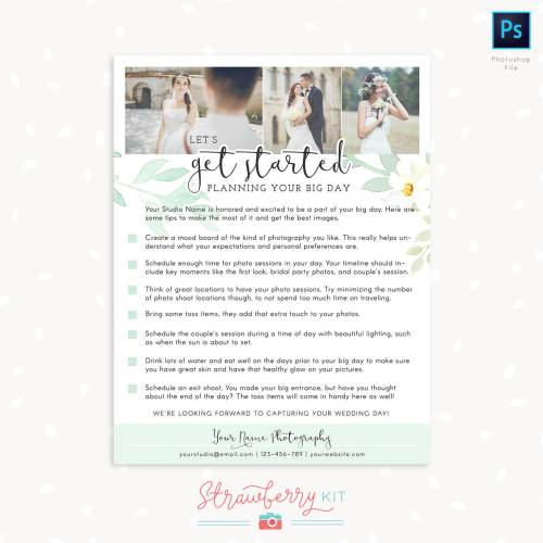 Medium Crop Of Wedding Photography Checklist