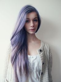 Grey Lavender Hair Tumblr | www.pixshark.com - Images ...