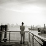 Man With Hat by John Strazza