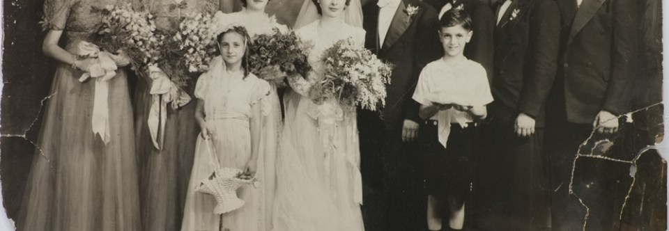 Wedding Photograph Restored