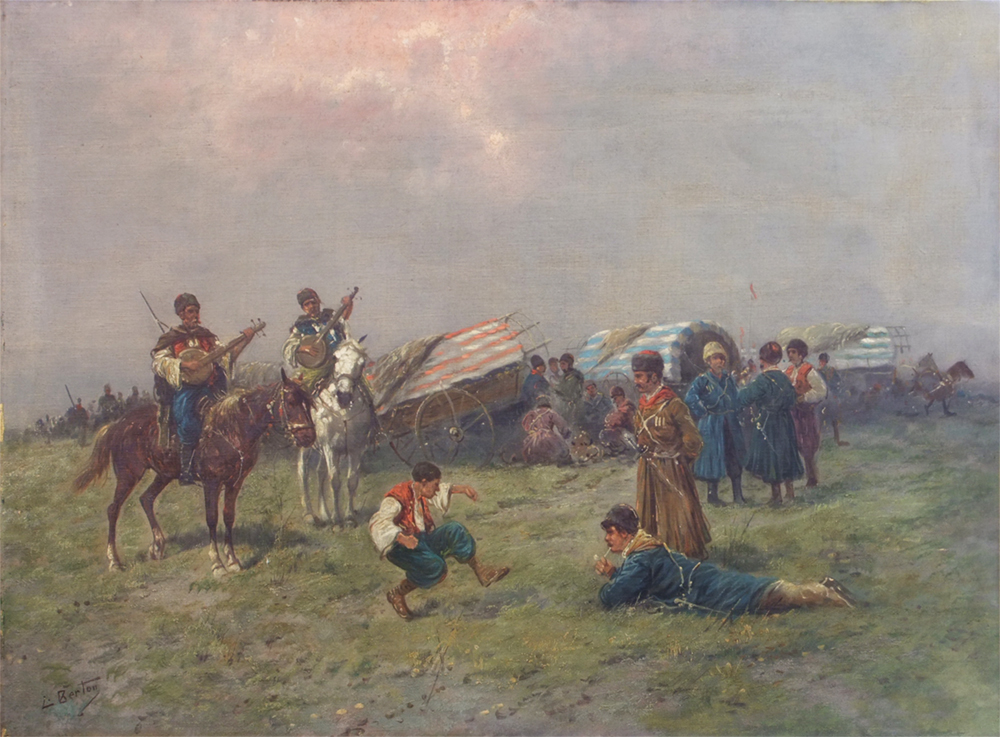 Russian painting After Restoration