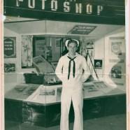 Waikiki Sailor Photograph Restored
