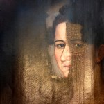 Heirloom oil painting restored by Strazza