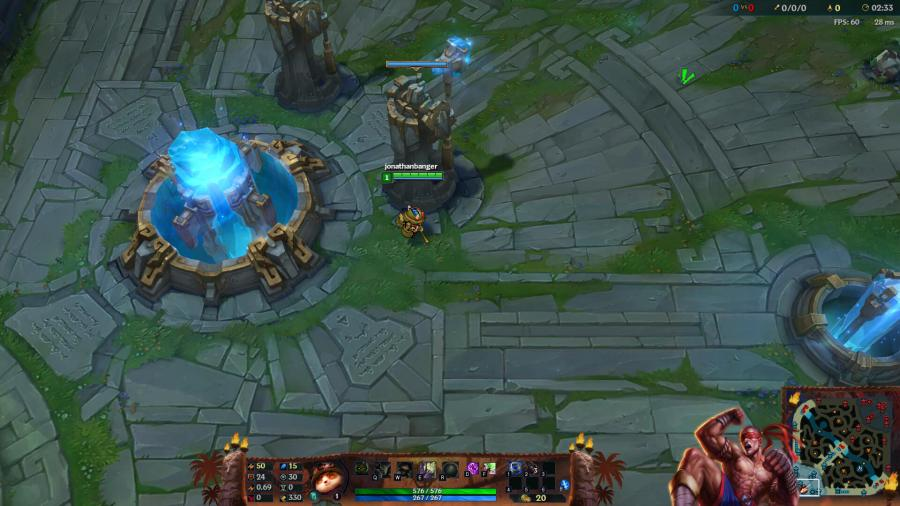 LoL Overlay download · lee sin overlay