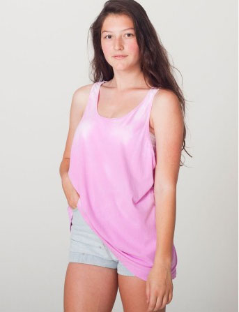 ThermoChromatic Tank in Pink